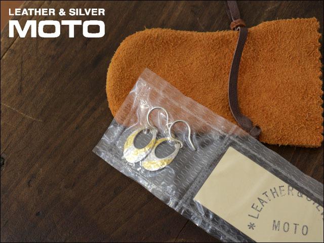moto leather&silver [モトレザー] OVAL-PIERCE S [SVK24-S] アクセサリー・オーバルピアス・シルバーピアス・ゴールドピアス LADY\'S_f0051306_18033189.jpg