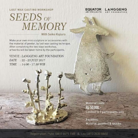 """インドネシア・ジョグジャカルタで展覧会:""""Seeds of Memory: Japanese Artists in Yogyakarta""""_a0054926_10592396.jpg"""
