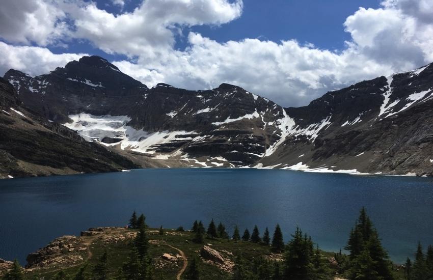 大自然の中で静かに佇むレイクマッカーサー - レイクオハラハイキング日帰りハイキング_d0112928_08533919.jpg