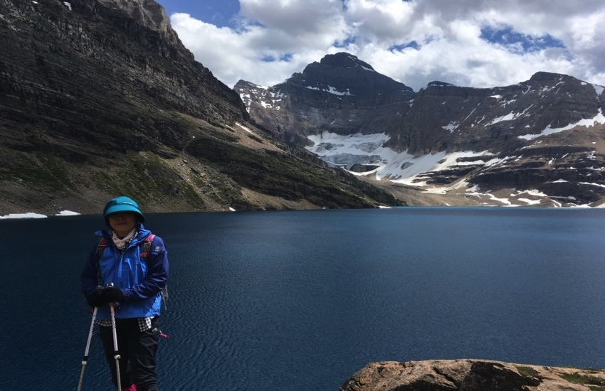 大自然の中で静かに佇むレイクマッカーサー - レイクオハラハイキング日帰りハイキング_d0112928_08533930.jpg