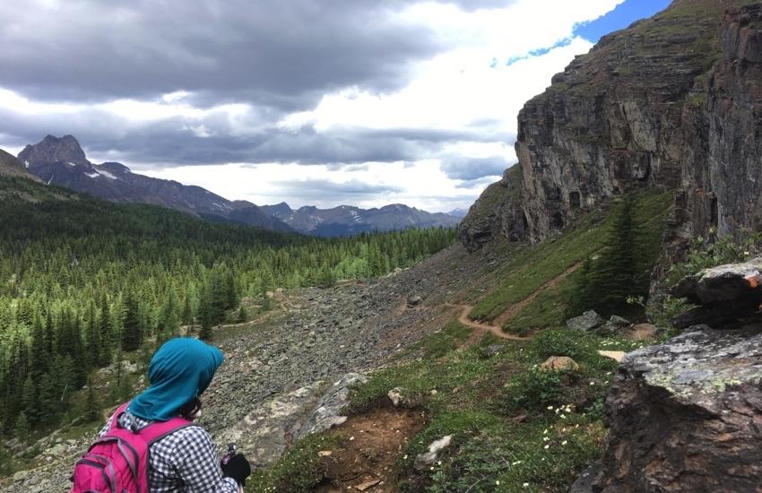 大自然の中で静かに佇むレイクマッカーサー - レイクオハラハイキング日帰りハイキング_d0112928_08533950.jpg