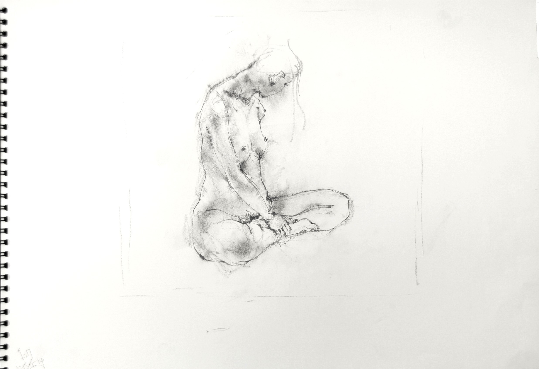 《 croquis  drawing dessin  sketch 》 4_f0159856_14171688.jpg