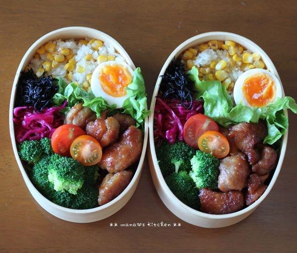 コチュチキ&コーンバターごはん ✿ ササミと根菜類のクリーム煮♪_c0139375_12195618.jpg