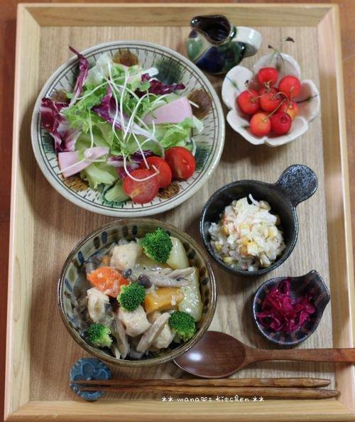 コチュチキ&コーンバターごはん ✿ ササミと根菜類のクリーム煮♪_c0139375_12201646.jpg