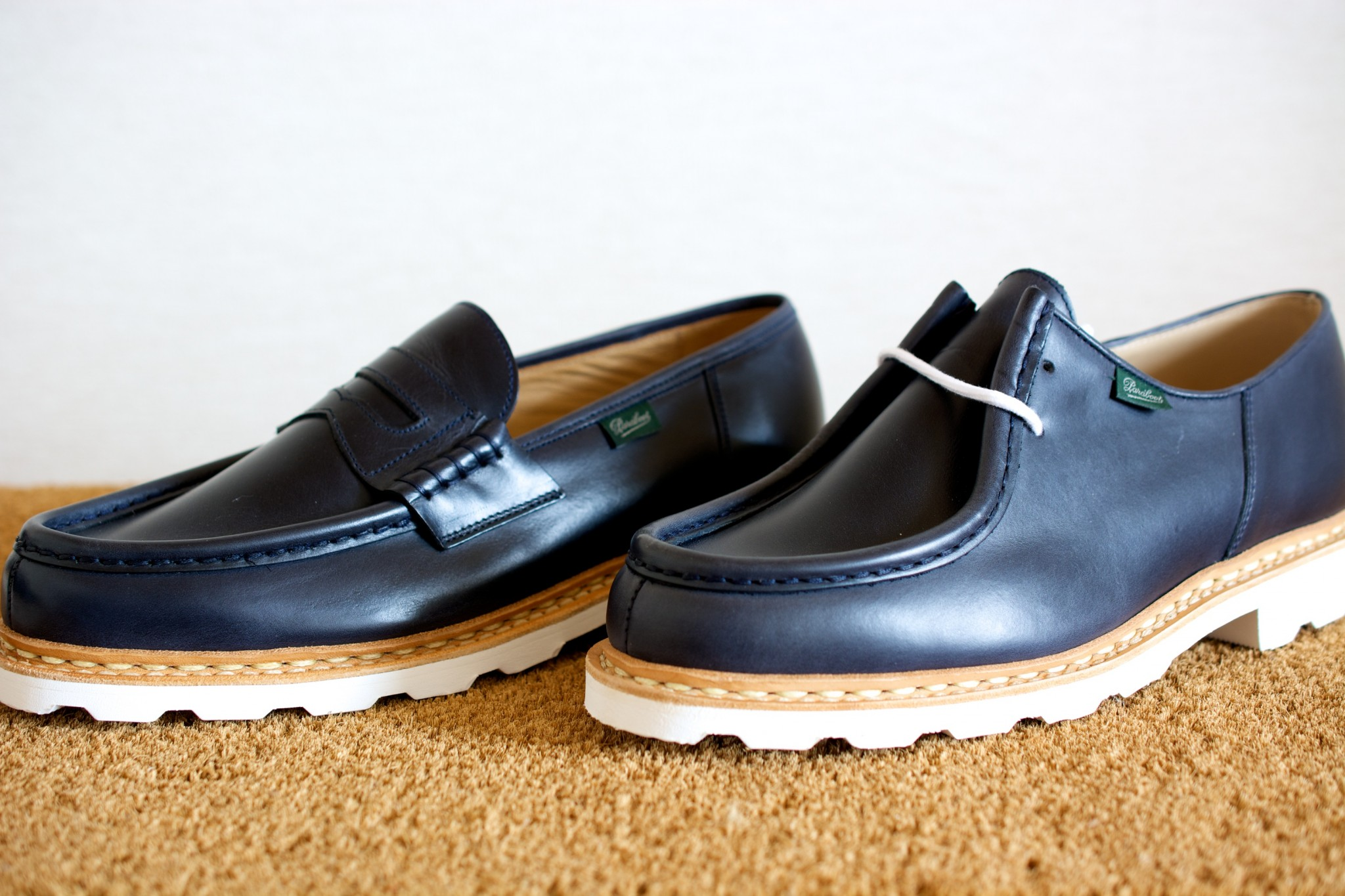 ca8252dfc9a0 靴を買いました。 パラブーツ ミカエル Marine : 今日も晴れて幸せ!