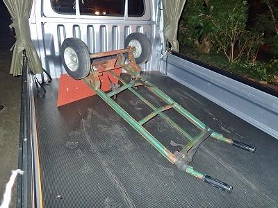 運搬台車の修理をしました_c0336902_20253682.jpg