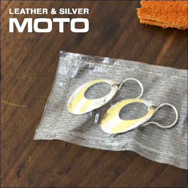 moto leather&silver [モトレザー] OVAL-PIERCE L [SVK24-L] アクセサリー・オーバルピアス・シルバーピアス・ゴールドピアス LADY\'S_f0051306_17095583.jpg