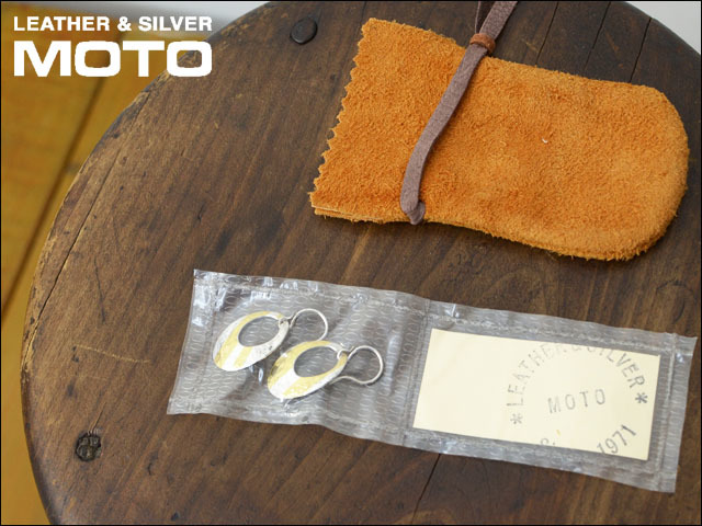 moto leather&silver [モトレザー] OVAL-PIERCE L [SVK24-L] アクセサリー・オーバルピアス・シルバーピアス・ゴールドピアス LADY\'S_f0051306_17100169.jpg