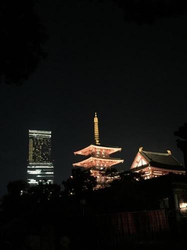 四天王寺 ライトアップ_a0194908_07524910.jpg