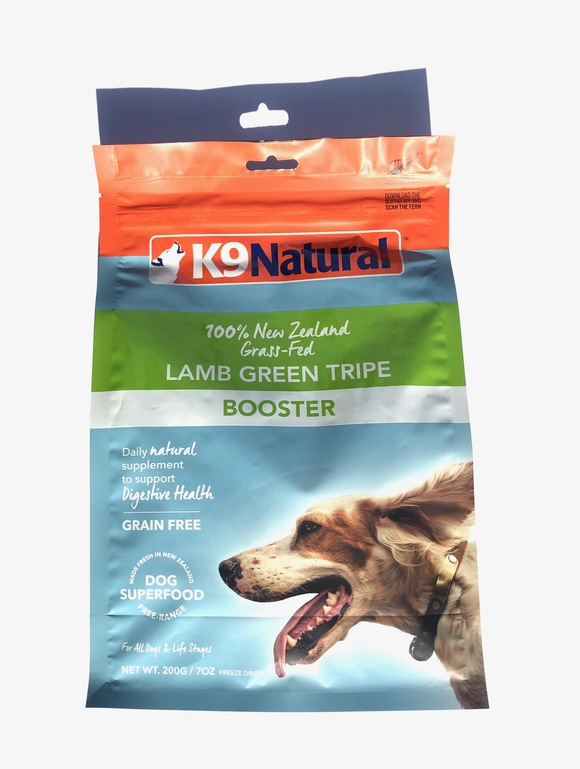 K9 Natural FREEZE DRIED LAMB GREEN TRIPE  フリーズドライ グリーン トライプ_d0217958_11501936.jpg