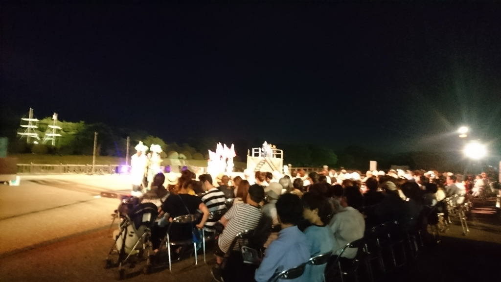 函館野外劇、始まりました!_b0106766_19520759.jpg