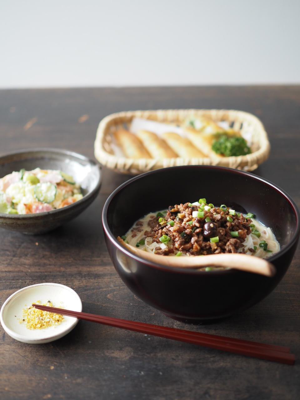 麺の器・冷し坦々麺_b0206421_1224021.jpg
