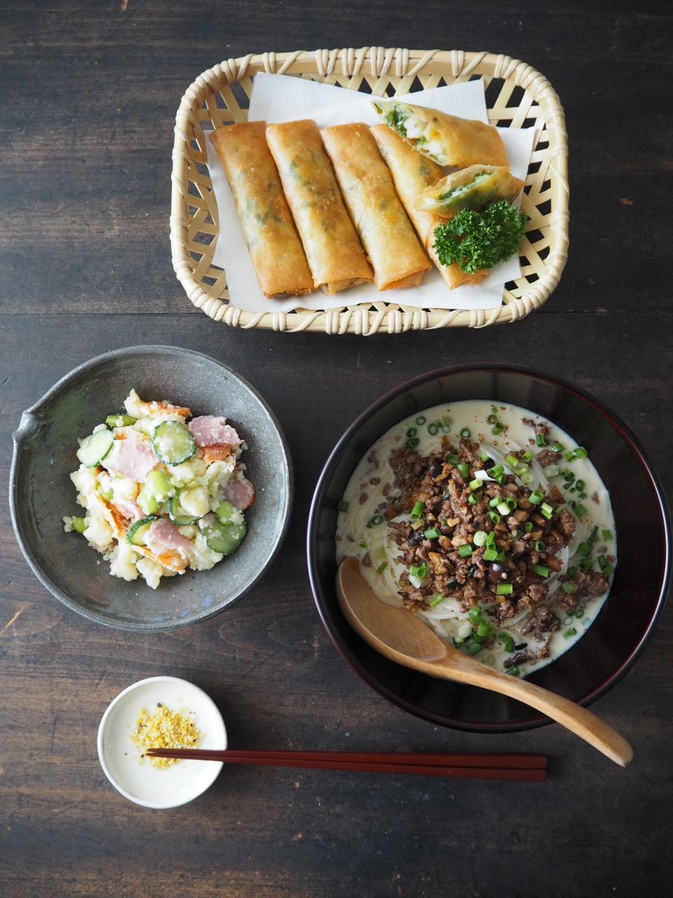 麺の器・冷し坦々麺_b0206421_12252249.jpg