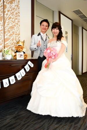 新郎新婦様からのメール シャクヤクのブーケ、ホテル椿山荘東京の花嫁様より_a0042928_11563381.jpg