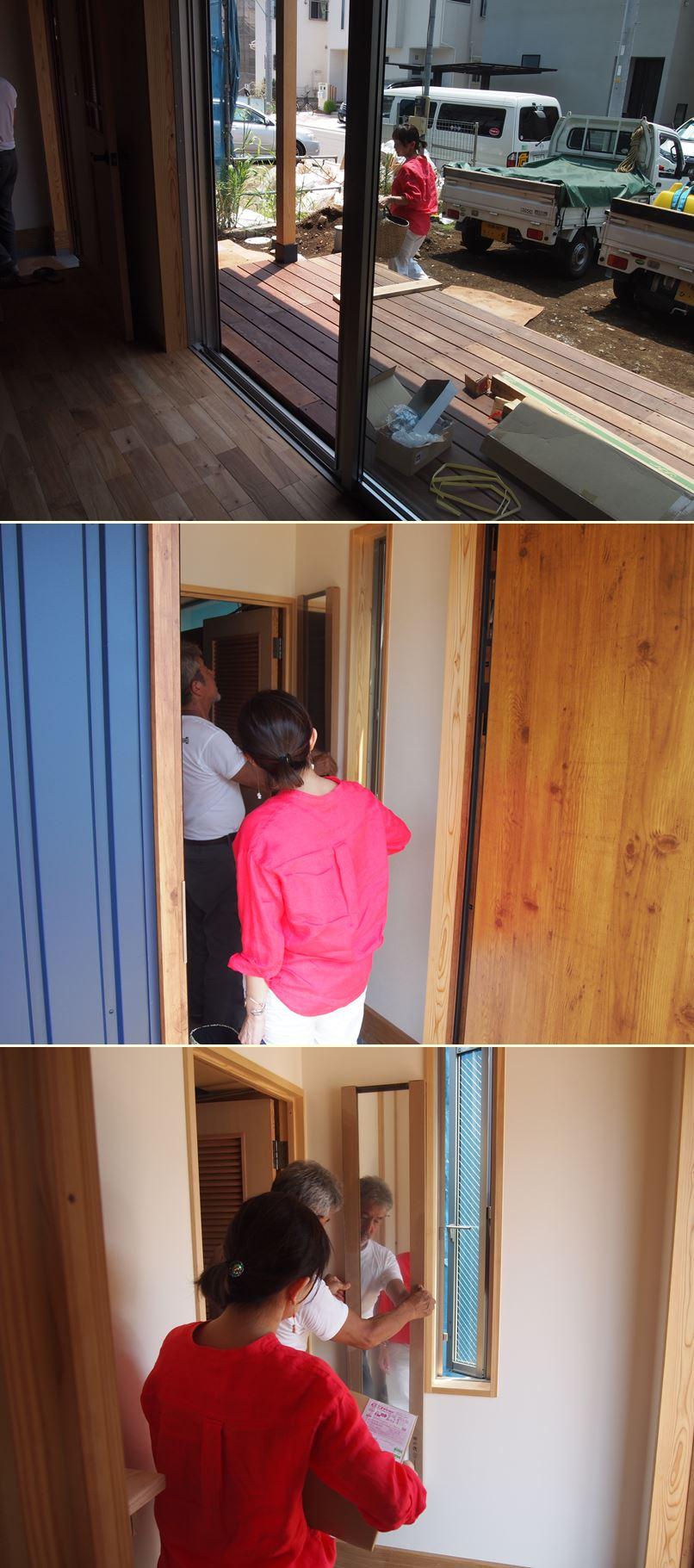 平塚の家☆床の養生が外されました!_c0152341_0152616.jpg