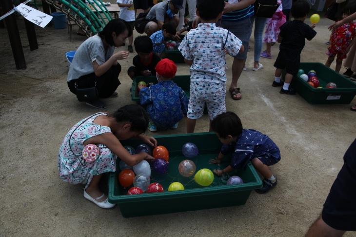 りんご組・年少組の夏まつり_b0277979_20401157.jpg