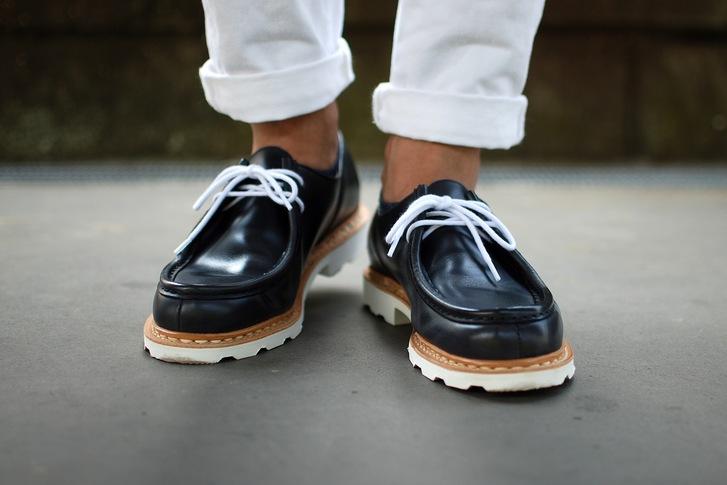 2ae275d047ac 良い靴を買いました。 パラブーツ ミカエル Marine : 今日も晴れて幸せ!