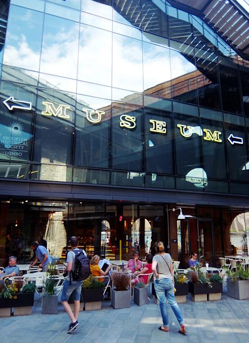 DUMBOの「エンパイア・ストアーズ」Empire Stores内部 - ニューヨークの遊び方
