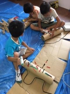 【7月の出張教室 トーテムポールを作ろう】_b0215321_22225380.jpg