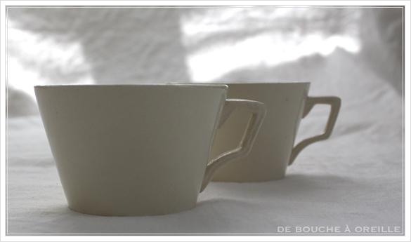 petite tasse ancienne 2種類の小さなカップ フランスアンティーク Digoin&Sarreguemines, Niderviller_d0184921_15420732.jpg