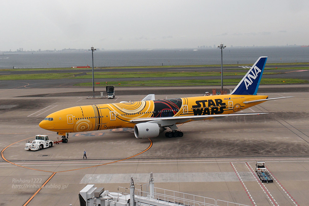 2017.7.23 羽田空港☆C-3PO ANA JET_f0250322_2117564.jpg