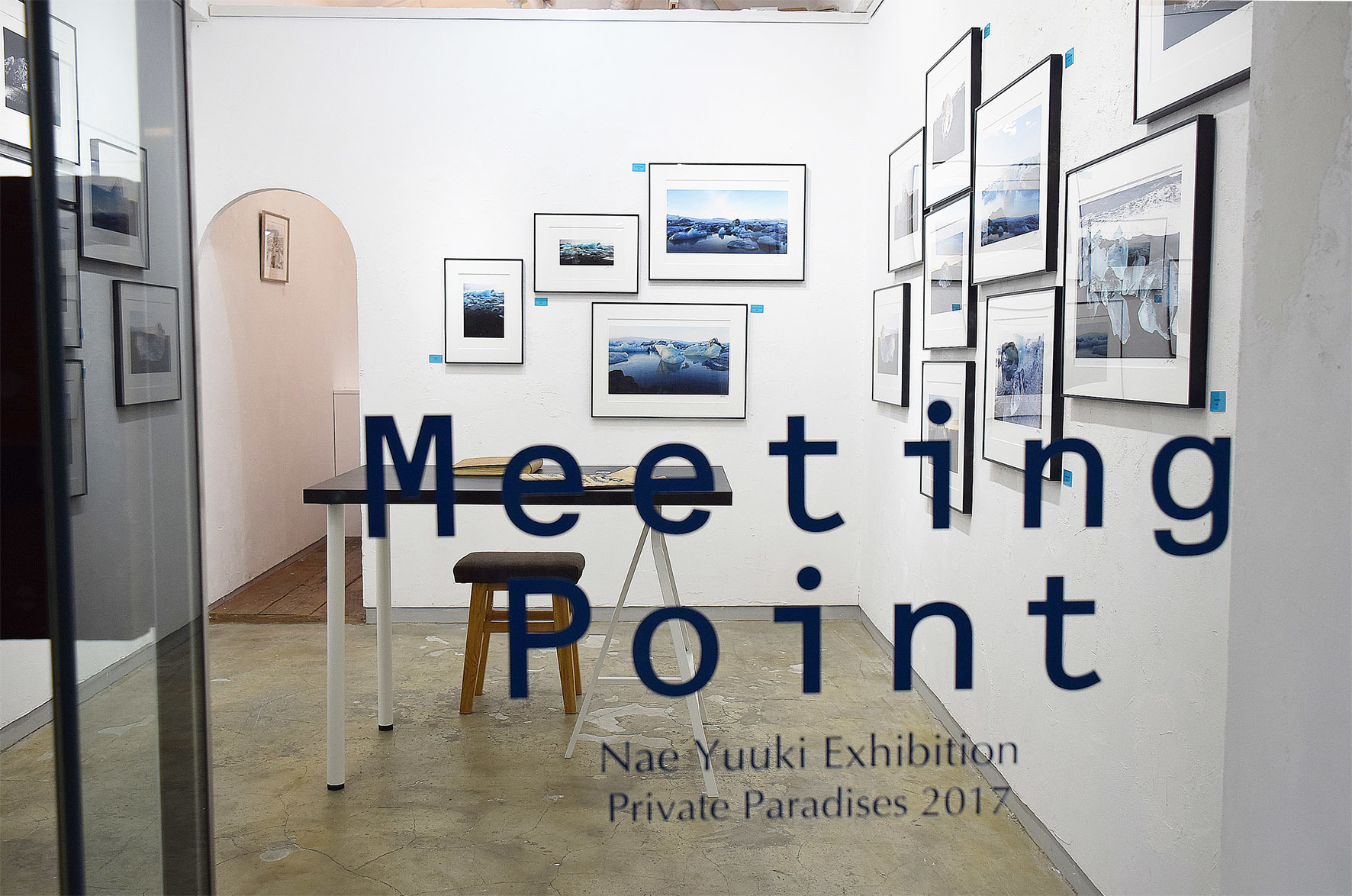 裕木奈江 作品展 Meeting Point [Private Paradises 2017ミーティングポイント] 1日目_e0272050_14491700.jpg