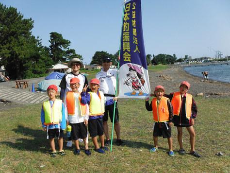 和田島小学校の釣り教室_f0175450_802581.jpg