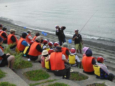 釣り教室は続きます。_f0175450_8312036.jpg