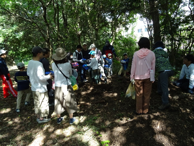 うみべの森探検・・・ZooCanくらぶ_c0108460_22293831.jpg