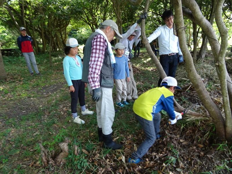 うみべの森探検・・・ZooCanくらぶ_c0108460_22351515.jpg