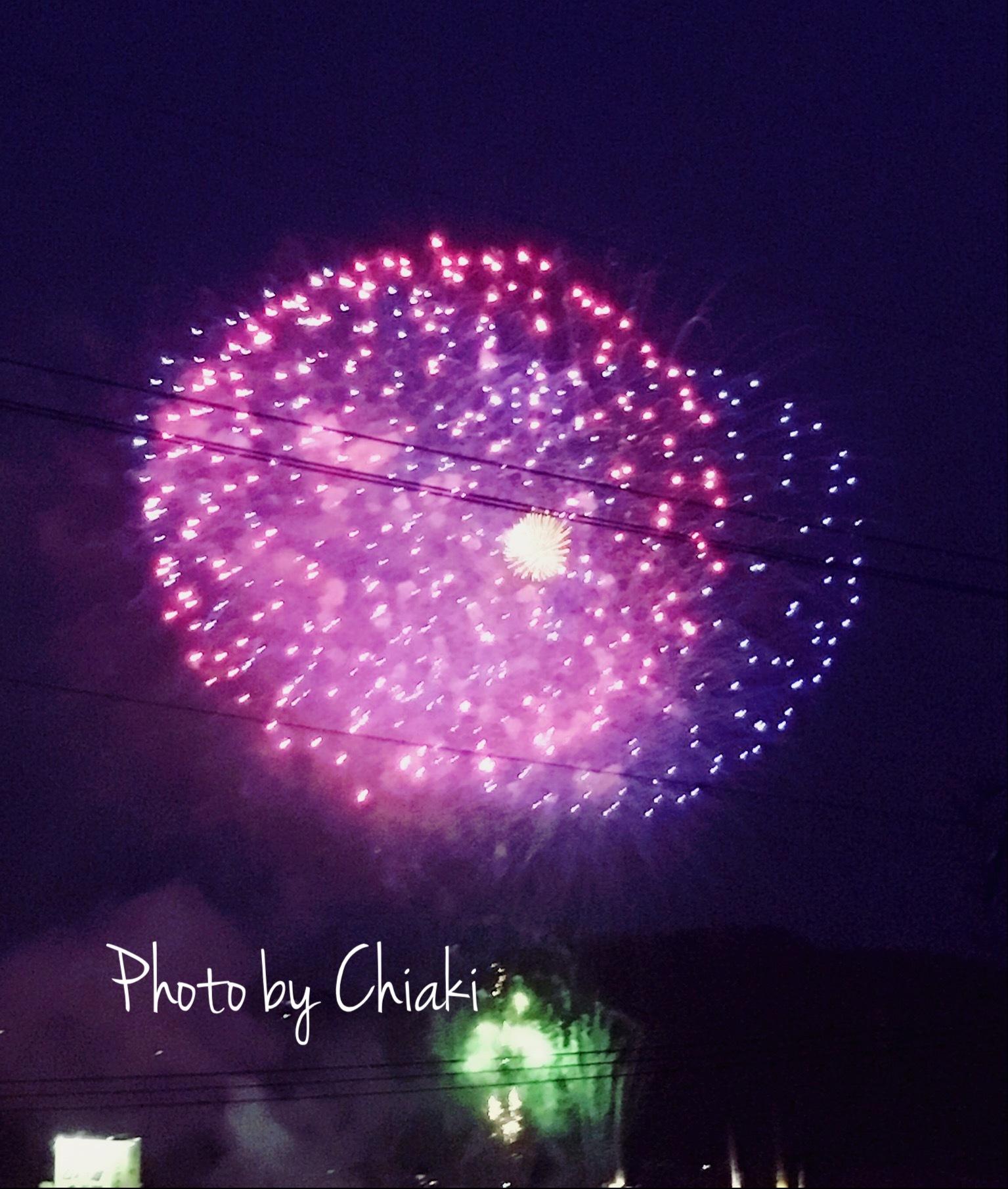 大好きな場所で大好きな人達と今年も尾道の花火大会を楽しみました٩꒰。•‿•。꒱۶_a0213806_13561571.jpg