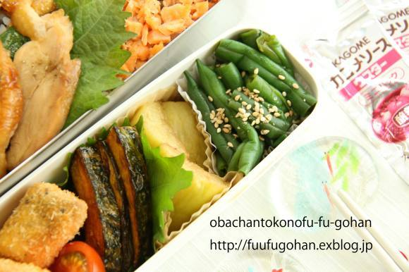 鮭弁当&わんぱくサンドの御出勤ごぱんセット_c0326245_11211226.jpg