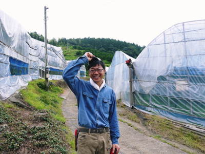 究極の柑橘『せとか』 平成30年度の収穫に向け、着果後の様子を現地取材_a0254656_18353315.jpg