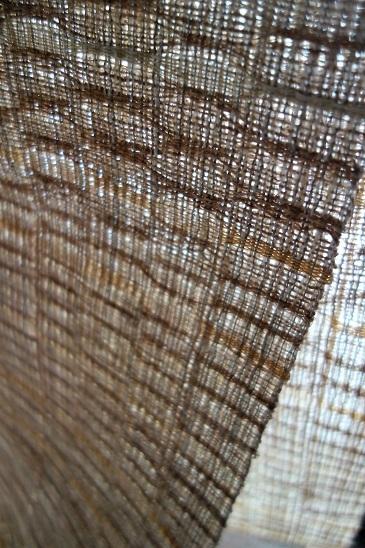 Iさまの『絹と麻と科の緯吉野八寸帯地』。_f0177373_20133096.jpg