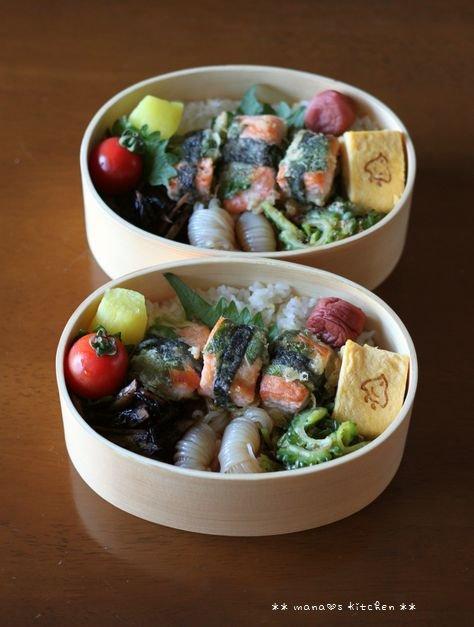 鮭の紫蘇海苔巻き ✿ おいしいコーヒー(๑¯﹃¯๑)♪_c0139375_11322338.jpg