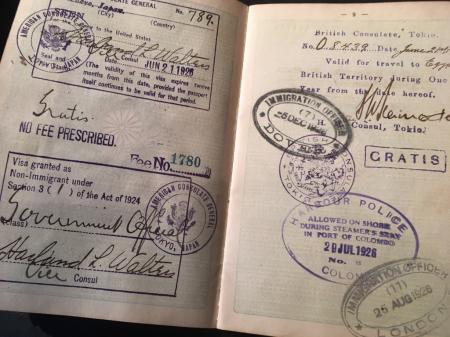 大日本帝国外国旅券・海軍主計少佐公用パスポート_a0154482_14243353.jpg
