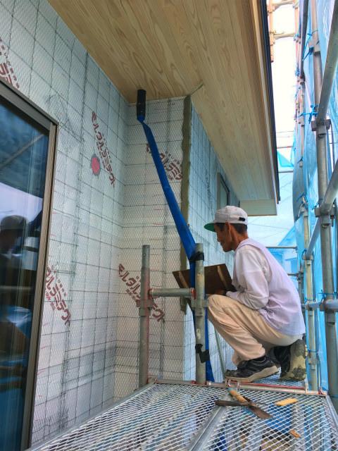 浜松市 Kさんの家 ★大工工事、左官工事_d0205883_16270520.jpg