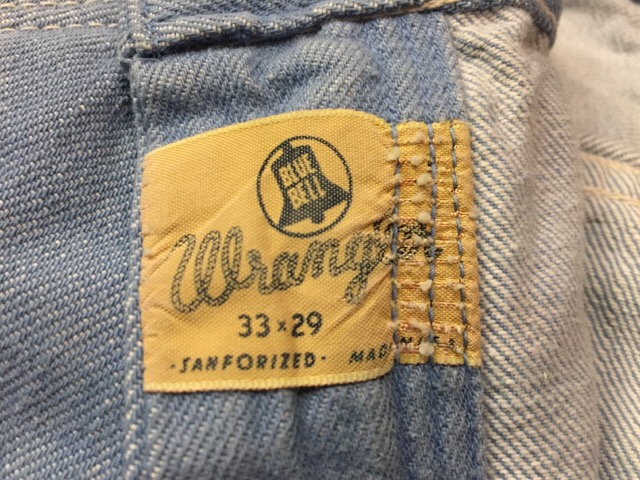 7月26日(水)大阪店ヴィンテージ入荷!!#4 VintageDenim&Tee編! StoreBrand&Levi\'s&Wrangler&Lee!!_c0078587_1616238.jpg