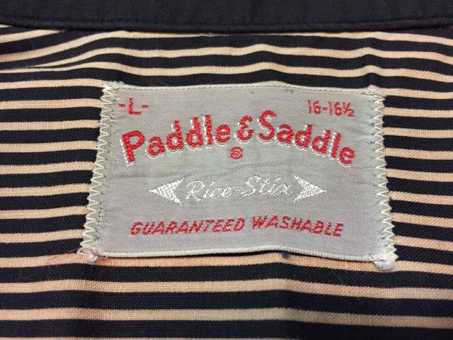 7月26日(水)大阪店ヴィンテージ入荷!!#5 Vintage Shirt編! Paddle&Saddle&Souvenir!!_c0078587_17103377.jpg