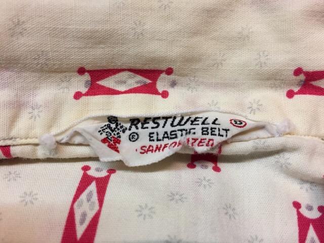 7月26日(水)大阪店ヴィンテージ入荷!!#5 Vintage Shirt編! Paddle&Saddle&Souvenir!!_c0078587_17243122.jpg