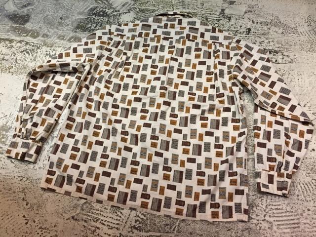 7月26日(水)大阪店ヴィンテージ入荷!!#5 Vintage Shirt編! Paddle&Saddle&Souvenir!!_c0078587_17301033.jpg