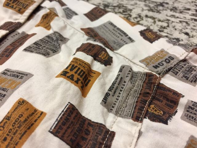 7月26日(水)大阪店ヴィンテージ入荷!!#5 Vintage Shirt編! Paddle&Saddle&Souvenir!!_c0078587_17435097.jpg