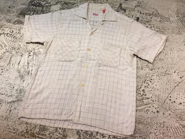 7月26日(水)大阪店ヴィンテージ入荷!!#5 Vintage Shirt編! Paddle&Saddle&Souvenir!!_c0078587_1747555.jpg