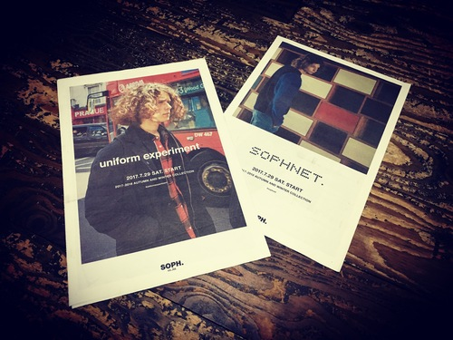 SOPHNET. & UE 2017 A/W COLLECTION. 7.29(Sat) START!!_c0079892_18422471.jpg