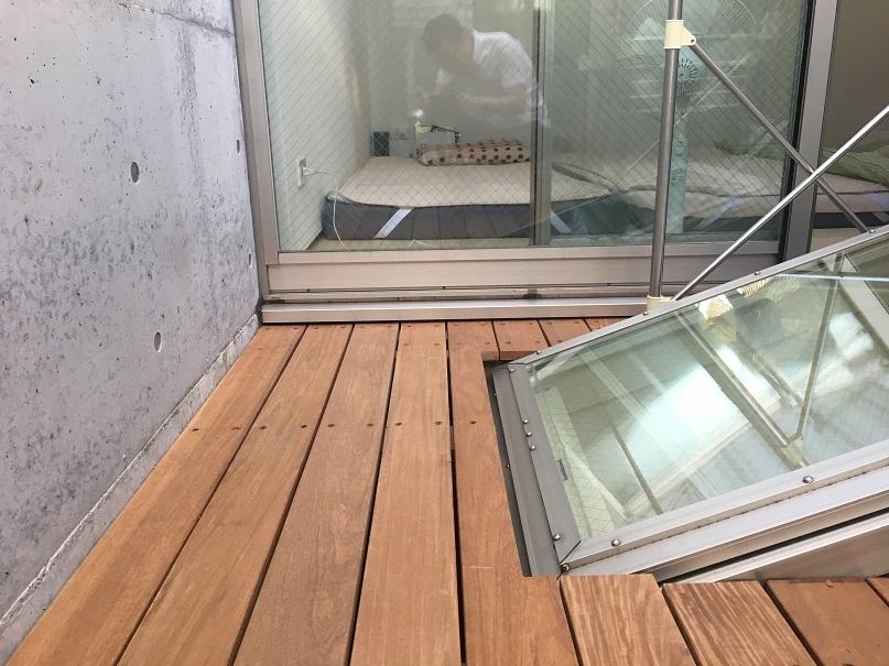 狭小住宅に住んでみた9 「5年目に完成した中庭」_e0028417_21200857.jpg