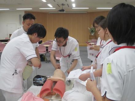 気管内挿管の実際と介助についての研修がありました_a0192843_11362515.jpg