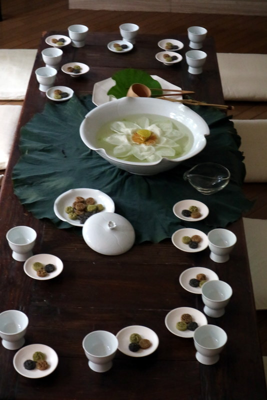 李映林先生 コウ静子先生のお料理会へ_d0210450_21582746.jpg