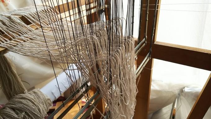 久しぶりの織物教室♪_f0374160_22313496.jpg