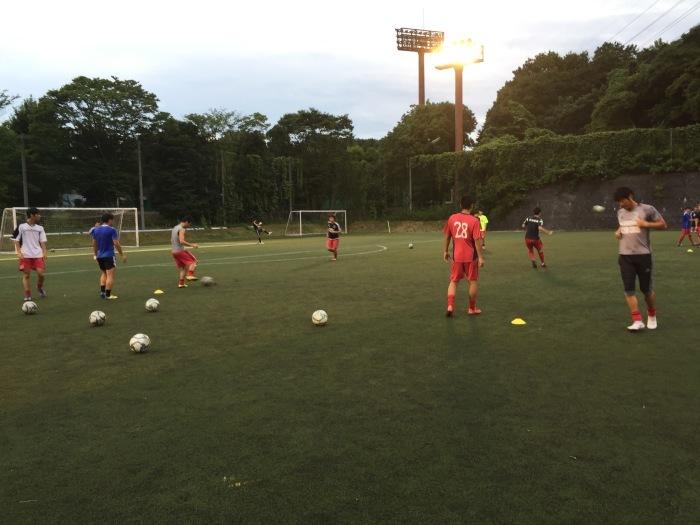 練習試合vs日本体育大学_a0109270_07275450.jpg