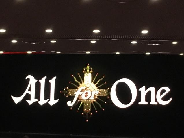 宝塚月組公演『All for One 』~ダルタニアンと太陽王~_a0100706_21230383.jpg